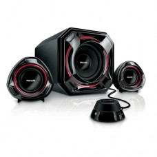 PHILIPS SPA5300 2.1 Channel Speakers, 100W MPO,Bass Boost